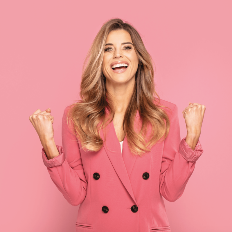 shape angel frau rosa happy nahrungsergänzungsmittel bio vegan hochdosiert hergestellt in deutschland made in germany zuckerfrei glutenfrei laktosefrei gmofrei kapseln für frauen gesundheit woman