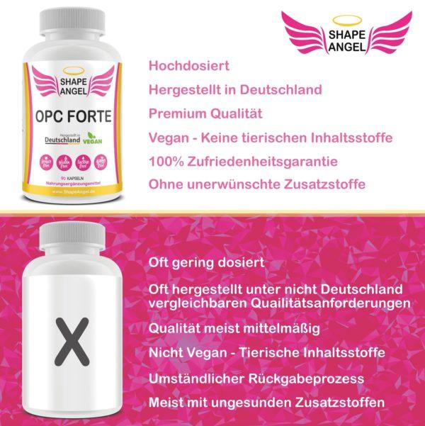 Für Frauen damen hochdosiert opc testsieger bio vegan kapseln health premium traubenkernextrakt antioxidantien hochdosiert immunsystem stärken traubensilberkerze opc pco