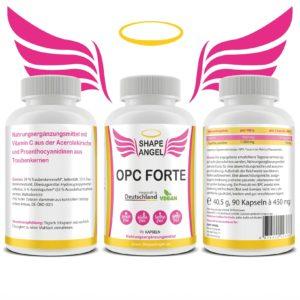 Für Frauen damen mädchen weiblichen körper organismus female lady Traubenkern schützt-gegen-stress hochdosiert opc testsieger bio vegan kapseln health premium immunsystem