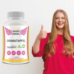 blutdrucksenker kapseln tabletten hochdosiert granatapfel-extrakt pulver bio granatapfel-kern vegan polyphenol granatapfelsaft polyphenole pomegranate extract