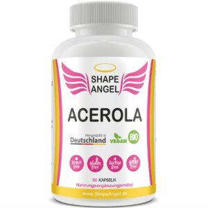 für frauen bio acerola pulver nahrungsergänzungsmittel vitamin c hochdosiert kapsel kirsche kapseln tabletten vit lutschtabletten azerolakirsche vitamin-c natürliche hochdosiertes natürliches
