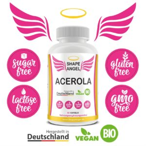 für frauen bio acerola pulver nahrungsergänzungsmittel vitamin c hochdosiert kapsel kirsche kapseln tabletten vit natürliches vitaminc vitamins vegan