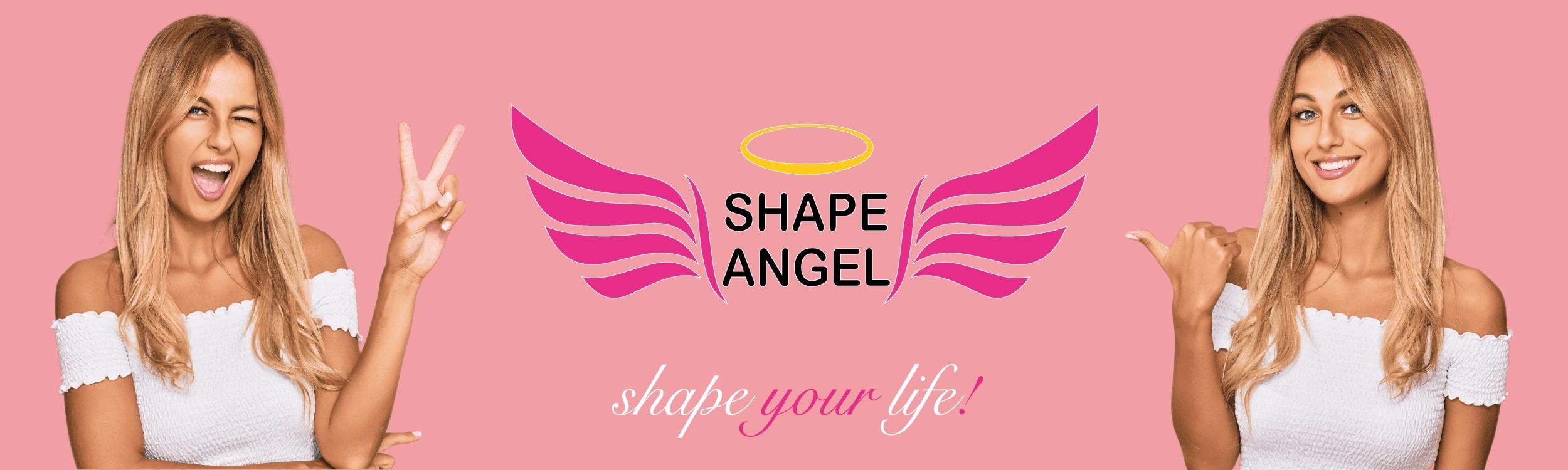shape angel für frauen for woman for women nahrungsergänzungsmittel supplement banner vegan bio glutenfrei laktosefrei gmofrei zuckerfrei hergestellt in de made in germany